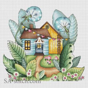 Волшебный летний домик