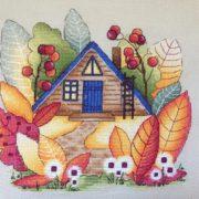 Волшебный осенний домик