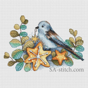 Птичка со звездой