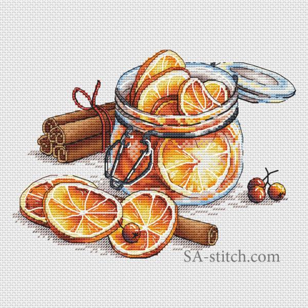 Баночка с лимонами