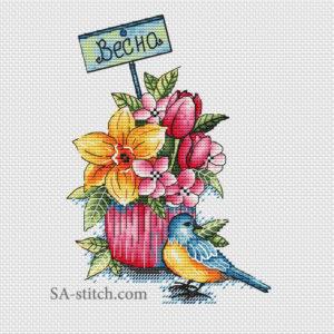 Кексик весна