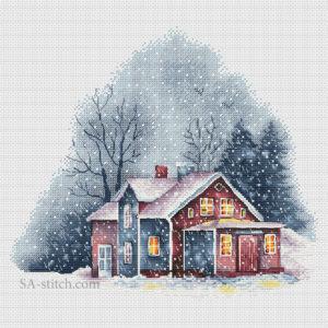 Домик_в_снегу