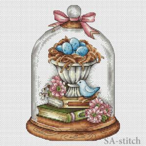Пасхальная композиция с книгами