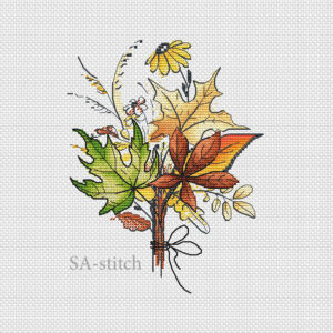 Букет листьев