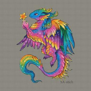Радужный дракон