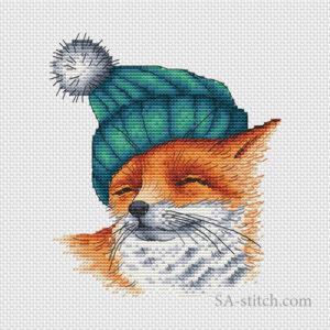 Лиса в шапочке